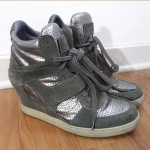 ASH Limited Edition Bowie Wedge Sneakers Size 41